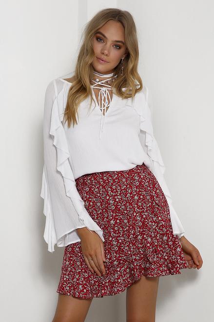 Seven Wonders Florence Wrap Skirt