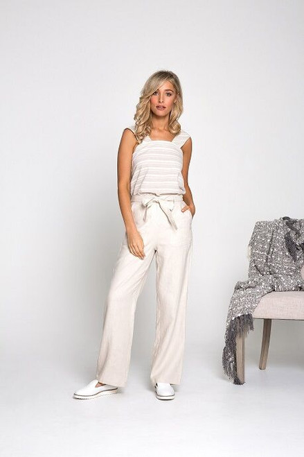 Ebby & I Mandalay Pants Beige