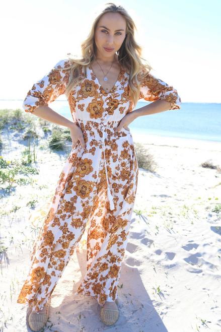 Erin Louise Woodstock Boho Dress