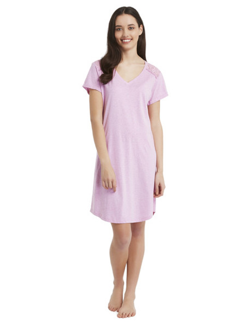 Bendon Harper Lace Short Sleeve Nightie