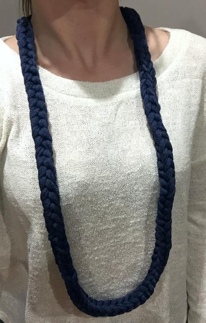 Necklace Braid Navy