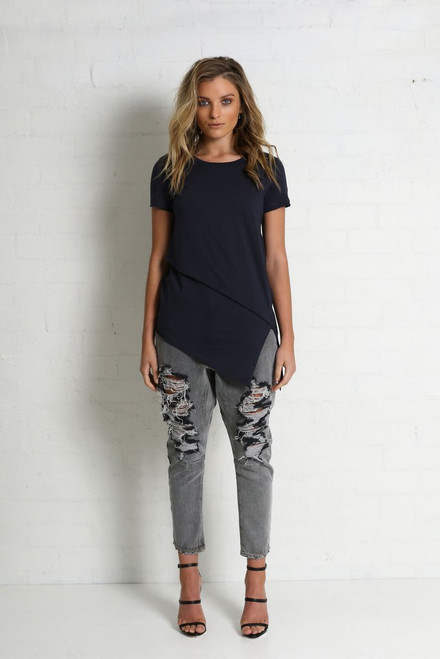 Madison Square Xanthe Tee Navy