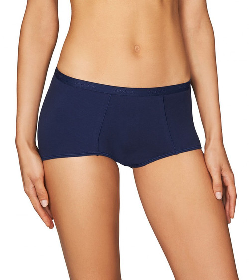 Bendon Body Cotton Trouser Brief Medieval Blue
