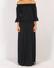 Freez Dreamer Maxi Dress Black