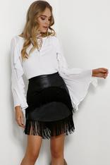 Seven Wonders Ambrose Fringe Skirt