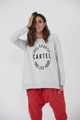 Cartel & Willow Sportif Sweater Grey