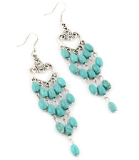 Turquoise Drop Earring 2