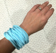Bracelet Light Blue Multi Strand