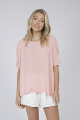 IDS Ashley Top Peach Pink