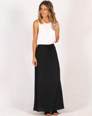Freez Maxi Skirt Black
