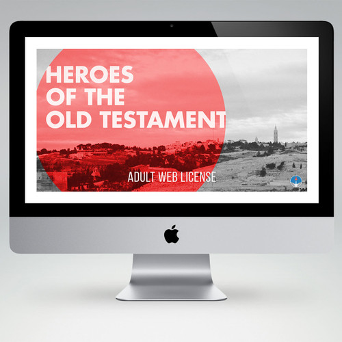 Heroes Of The Old Testament Bible Study Teaching Materials (Adult Edition)