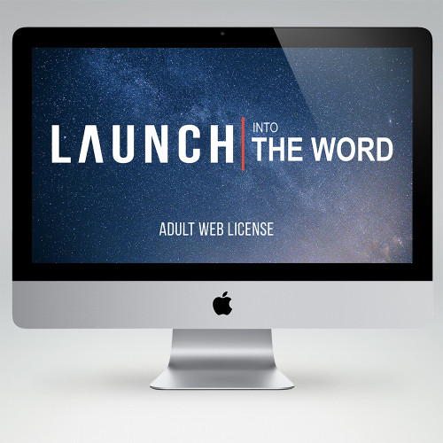 LAUNCH Into The Word Bible Study Teaching Materials (Adult Edition)