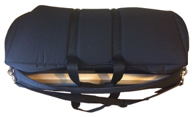 Pedal Board bag closed view