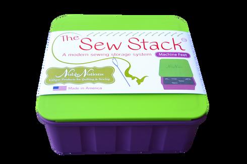 Home · Premium Storage; Sew Stack Machine Feet Box. Image 1  sc 1 st  Noble Notions & Sew Stack Machine Feet Box - Noble Notions