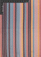 Chevron Polyester Novelty Jacquard Designer Stripe Fabric by the Yard