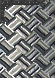 Geometric Polyester Novelty Metallic Jacquard Designer Tiled Fabric by the Yard