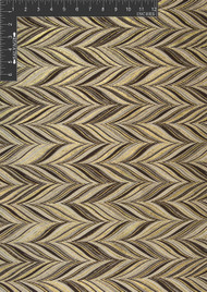 Herring Bone Polyester Novelty Metallic Jacquard Designer Chevron Fabric by the Yard