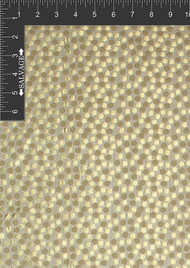 Dots Polyester Metallic Jacquard Designer Spotted Fabric by the Yard