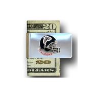 Atlanta Falcons Pewter Emblem Money Clip