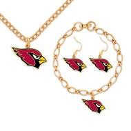 Arizona Cardinals Jewelry Gift Set