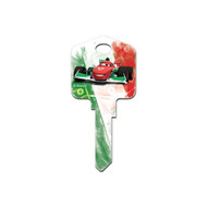 Cars Finn & Francesco Disney Pixar Kwikset KW1 House Key