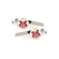 Owl Safety Whistle Keychain