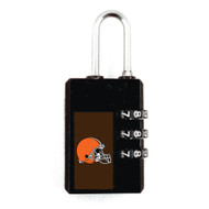 Cleveland Browns Luggage Security Lock TSA Approved