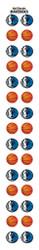 Dallas Mavericks Nail Sticker Decals