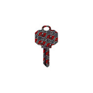 Tampa Bay Buccaneers Schlage SC1 House Key