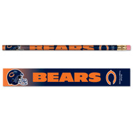 Chicago Bears Pencils - Pack of Six (6)