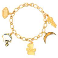 San Diego Chargers Charm Bracelet Charm Bracelet