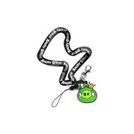 Angry Birds Lanyard Keychain King Pig