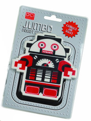 Black and Red Jumbo Robot Eraser