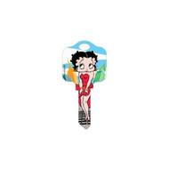 Betty Boop In New York Schlage SC1 House Key