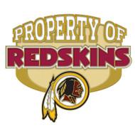 Washington Redskins Property Of Cloisonne Pin