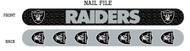 Oakland Raiders Nail File