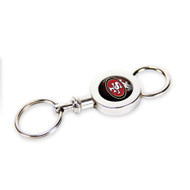 San Francisco 49ers Quick Release Valet Keychain