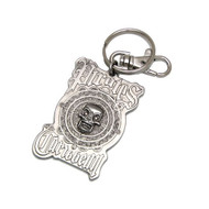 Pirates of the Caribbean Medallion Pewter Keychain