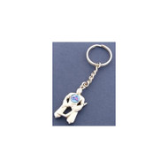 Columbus Blue Jackets Goalie Keychain