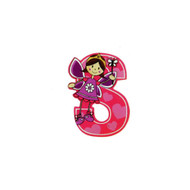 Self Adhesive Wooden Fairy Letter S by The Toy Workshop