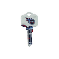 Tennessee Titans Schlage SC1 House Key