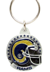 Los Angeles Rams Pewter Keychain