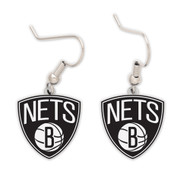 Brooklyn Nets Dangle Earrings NBA