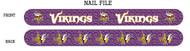 Minnesota Vikings Nail File