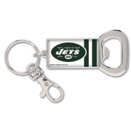 New York Jets Bottle Opener Metal Keychain (WC)