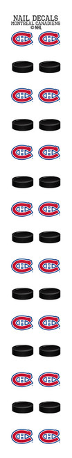 Montreal Canadiens Nail Sticker Decals