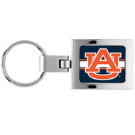 Auburn University Domed Metal Keychain