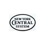 New York Central System Porcelain Refrigerator Magnet
