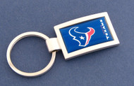 Houston Texans Curved Key Chain