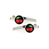Cherries Safety Whistle Keychain